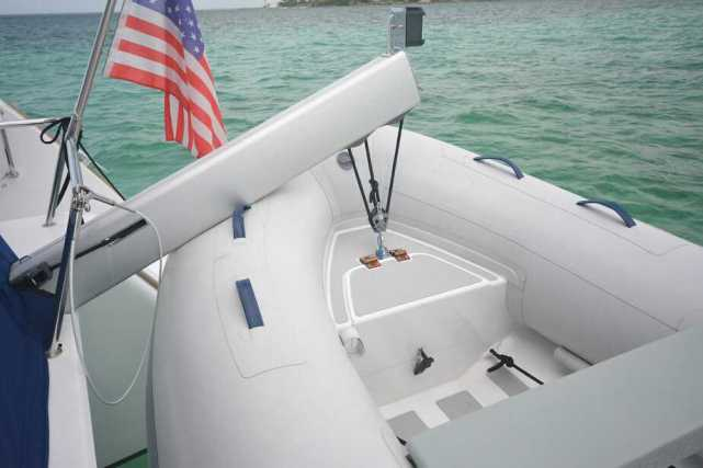 Pad Eye in Dinghy Bow