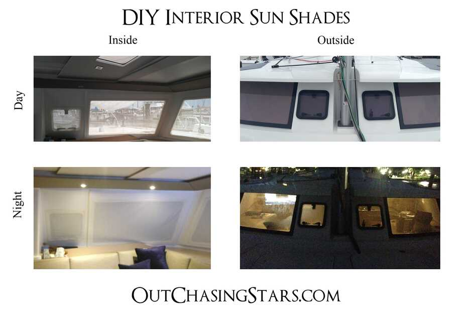DIY Interior Sun Shades