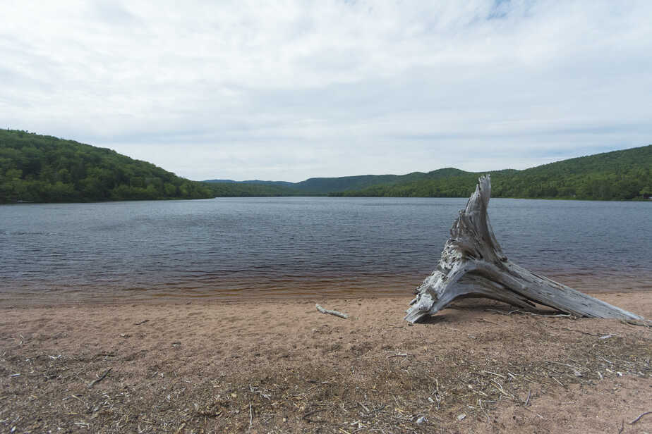 Warren Lake in Nova Scotia.