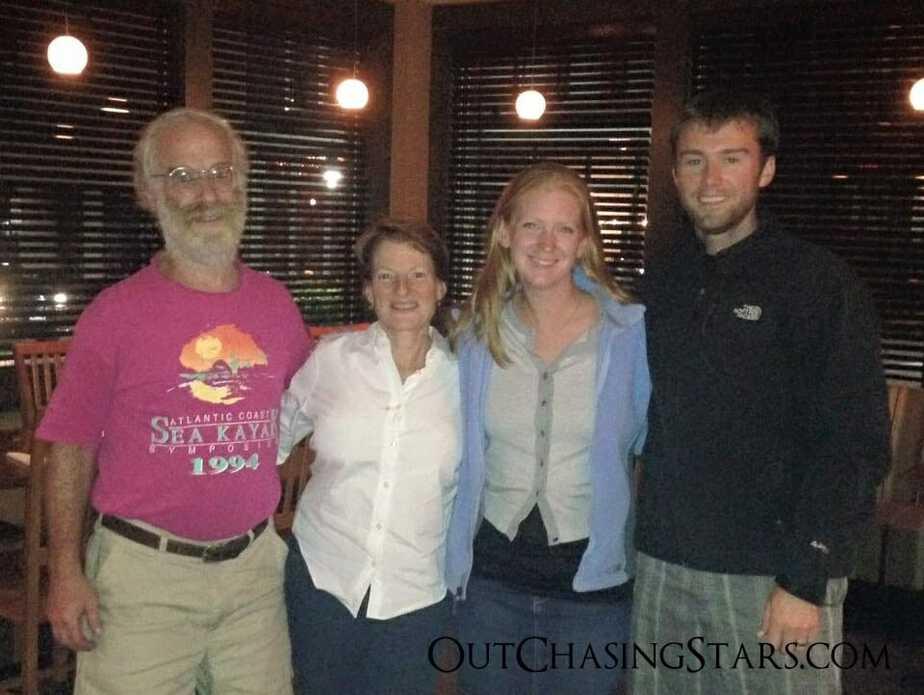 Ed, Kathleen, and us!