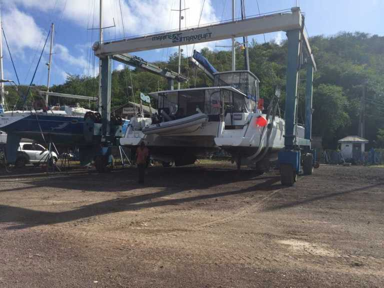 Haul Out and Work At Grenada Marine