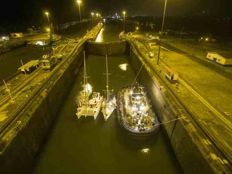 Sailing the Panama Canal