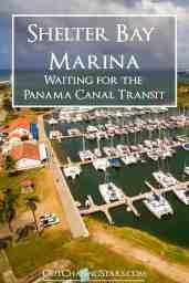 panama canal, shelter bay marina, panama