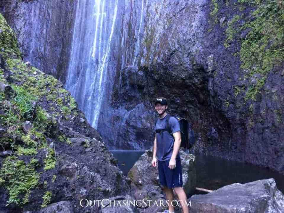 Fatu Hiva Waterfall with David