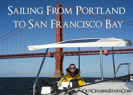 Sailing from Portland to San Francisco