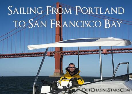 Sailing from Portland to San Francisco