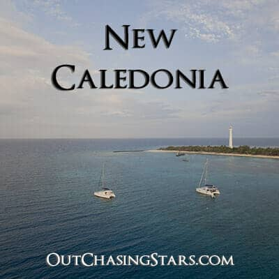 Sailing New Caledonia in the South Pacific