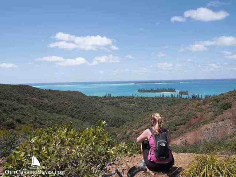 Hiking Pic N'ga, Île des Pins, New Caledonia