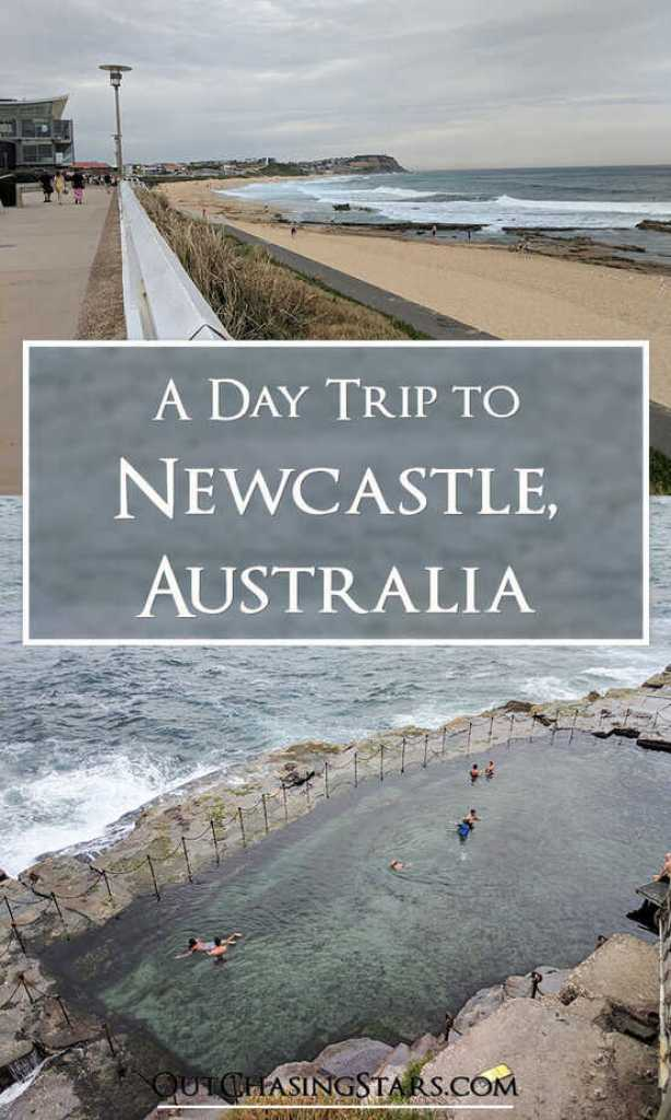 A day trip to Newcastle is full of good walking and public beaches and baths for taking a dip.