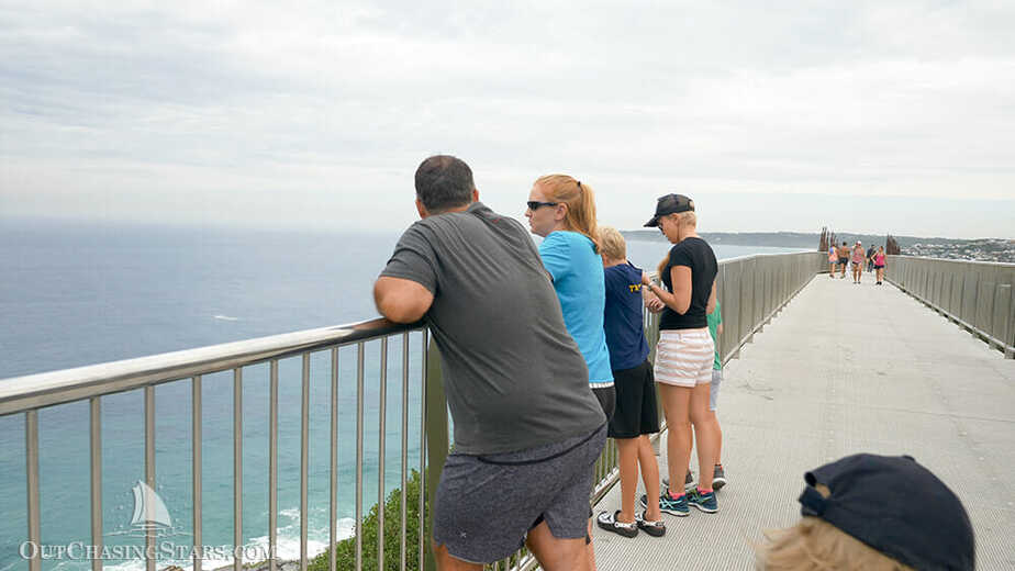 The Newcastle Memorial Walk is a very well constructed and easy walk to a spectacular view.