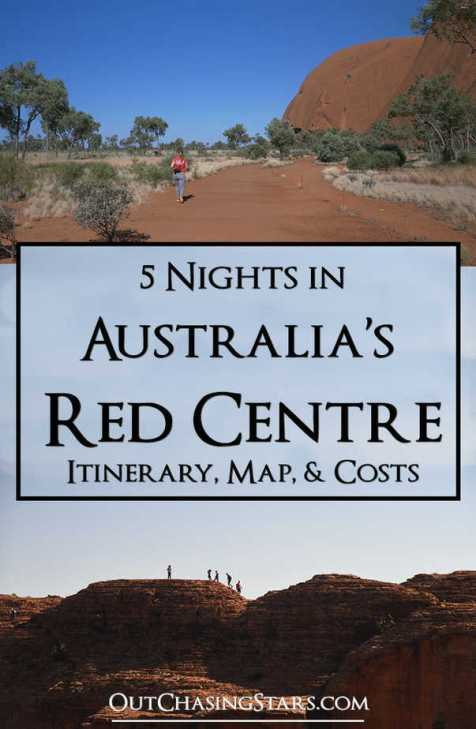 5 Nights in the Red Centre Pin