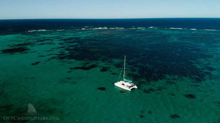 Sail Ningaloo:  Liveaboard Sailboat on Ningaloo Reef