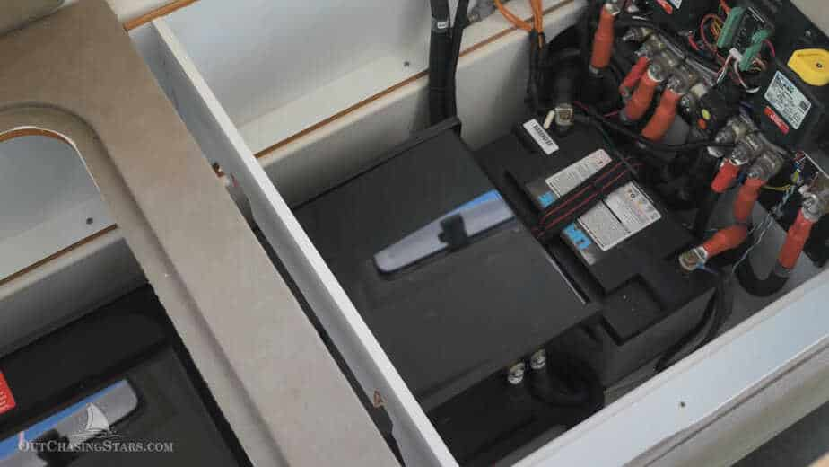 lithium-ion boat batteries - house bank