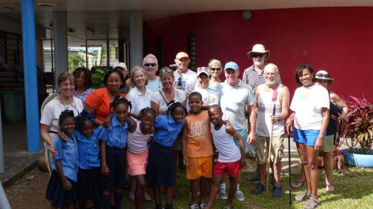 Eastern Caribbean Humanitarian Projects with Macario Advantage