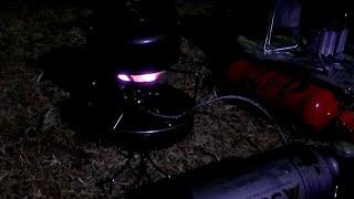 冬キャンプ、前室モーニングコーヒー編ライブ放送