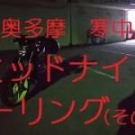 【MT-25】奥多摩、寒中ミッドナイトツーリング(その2)