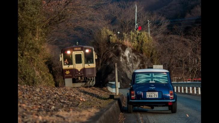 ローバーミニで行く、冬の渡良瀬渓谷のんびりツーリング/To Watarase Winter Valley Touring with Rover MINI.