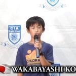 【ジュニアキャンプ】セブCIA 31th スピーチ~Koki~