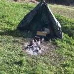 平成最後のキャンプは野営。おっさんの朝メシの風景