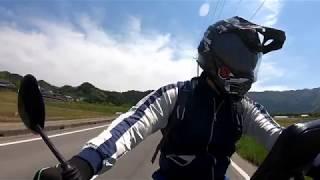 CRM80ちょこっとツーリング GoPro HERO7 Blackマウントテスト