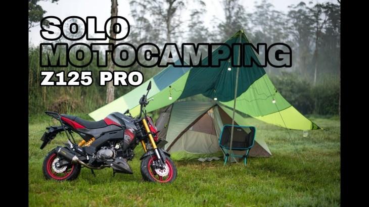 KAWASAKI Z125 PRO SOLO MOTORCYCLE CAMPING   MOTOCAMPING   バイクでソロキャンプ