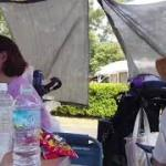 琵琶湖マイアミ浜オートキャンプ場  アウトドアフェスタとワンワンマルシェ