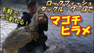 【ヒラメ・マゴチ】お手軽でよく釣れる!ロックフィッシングリグでフラットフィッシング