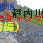 ソロキャンプ フライフィッシング北海道 静内川上流でソロキャンプしてフライフィッシングしてきましたぁ焚火がとっても楽しくてwハマるわぁ(前編)