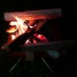 焚き火 キャンプ