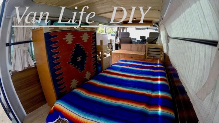 【Van Life  DIY】バンライフ  中古キャラバンをキャンプ仕様に大改造!!