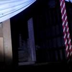 首吊り神社!!心霊ソロキャンプ、白い着物の女性が・・・