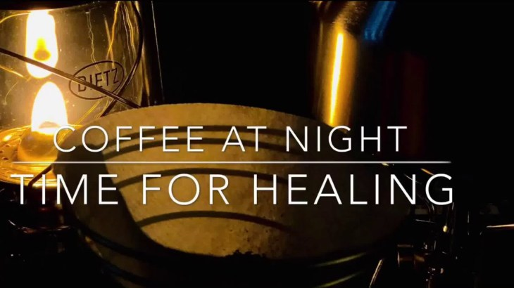 【アウトドア】静かな夜のコーヒータイム