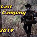 今年最後のソロキャンプ /The last solo camping 2019