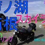 #49【#モトブログ】#SV650 で芦ノ湖・箱根スカイラインをツーリング!山頂から富士山!