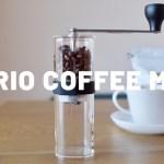 HARIO (ハリオ) コーヒーミル   アウトドアでも美味しいコーヒーがのみたくて