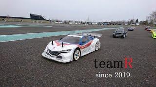 ラジコン動画 Vol118 ある日のツーリングカーカルガモ走行の巻