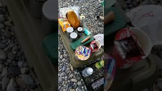 [M'sチャンネル]ゴマ·花パパのアウトドア 河川敷で昼食&コーヒーブレイク&散歩 Mix犬(ゴマ太郎&花子)とラングラーで遊んできた😄
