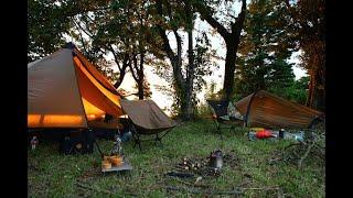 ソロストーブで過ごす絶景キャンプ best camping
