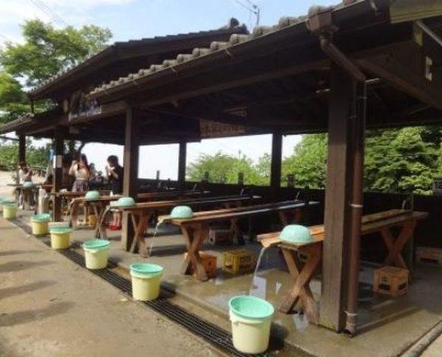 糸島の滝キャンプ場付近