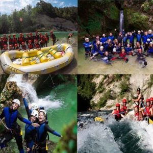 Canyoning Rafting Bled Lake adventure activity