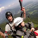 Paragliding tandem flight Outdoor Slovenia
