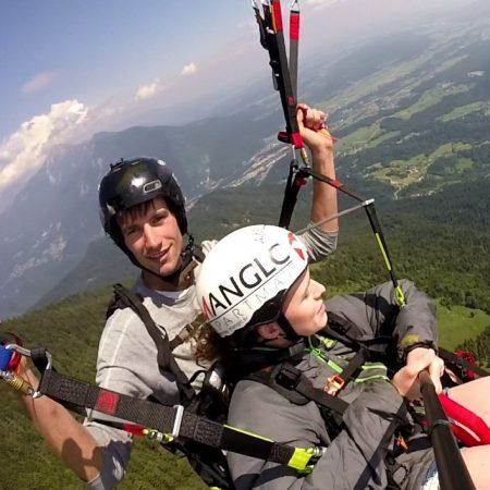 Paragliding Lake Bled Slovenia Tandem Flight Adventure