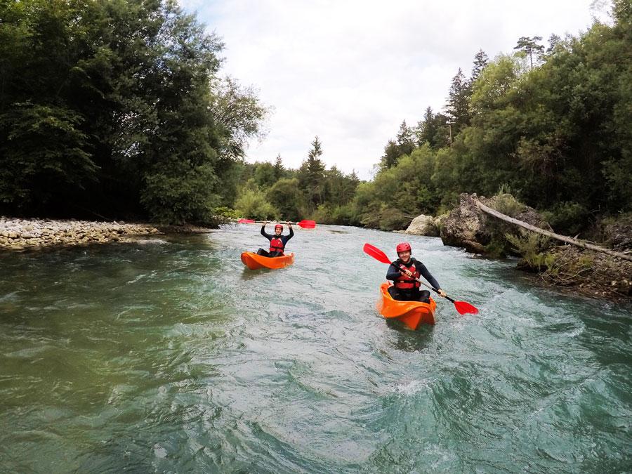 Sit on top Kayak Trip Bled Water activities