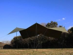 SOTO Labo(ソトラボ) cotton kokage tarp wide big shadow