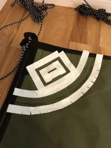 SOTO Labo(ソトラボ) cotton kokage tarp シームグリップ塗り方 マスキング