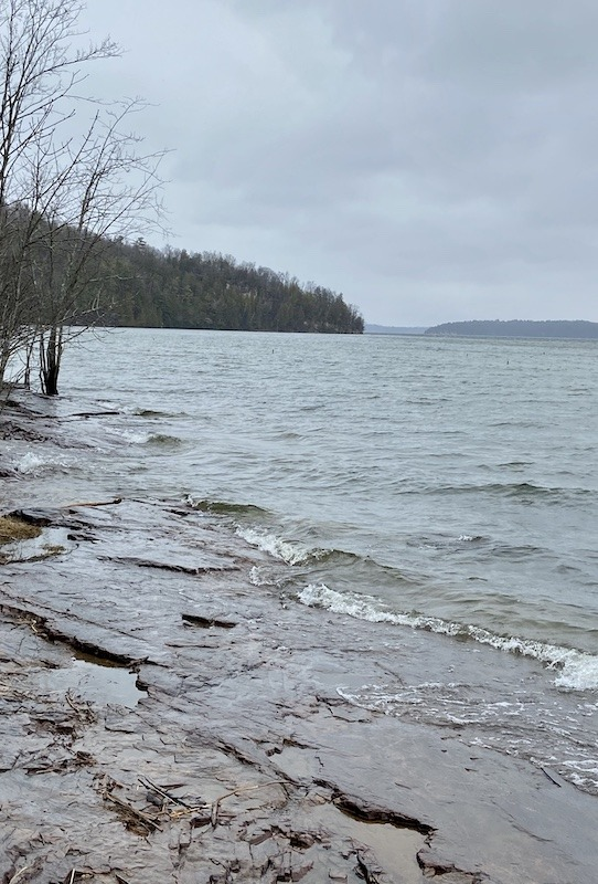 day hikes in Northern Vermont-Shelburne Bay