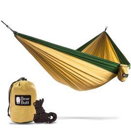 Bear Butt No 1 Double Parachute Camping Hammock