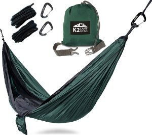 double camping hammock by k2 camp gear   8 of the Best Camping Hammocks of 2017