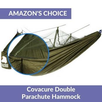 best hammock with mosquito net Covacure Double Parachute Hammock oav