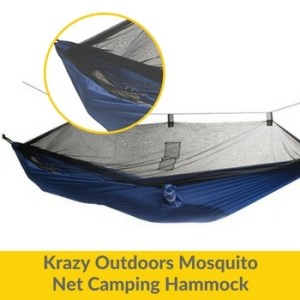 best hammock with mosquito net Krazy Outdoors Mosquito Net Camping Hammock oav